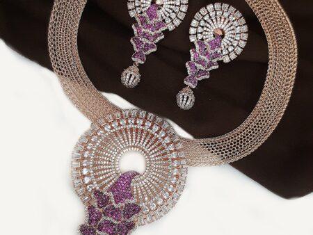 Nano-Stone Necklace Set