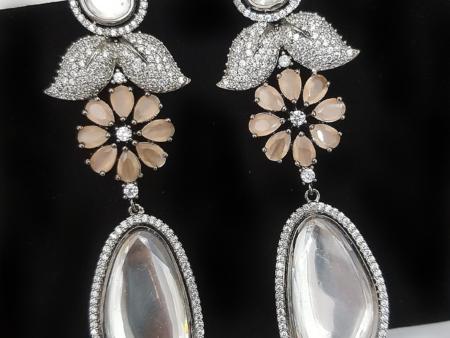 Mirrored Drop Earrings