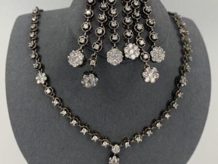 Black Stary Necklace