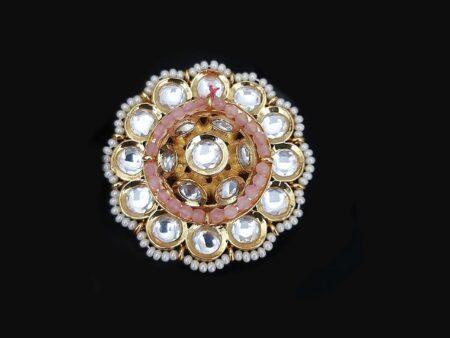 Dazzling Kundan Ring
