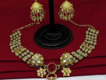 Enhancing Beaded Necklace set